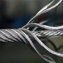 浩铵包胶耐磨钢丝绳拉索绳批发