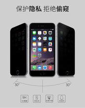 iphone6plus手机保护屏高清防窥钢化玻璃屏图片