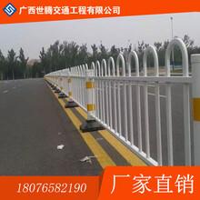 广西梧州市道路护栏市政护栏产品有点及安装广西世腾