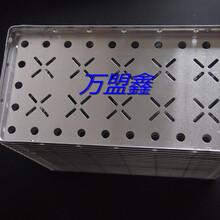 邦定铝盘LED邦定铝盒SMT过炉铝托盘COB周转盘25X16CM无油渍图片