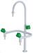 诚誉实验室专用水系统PP水槽三联水龙头耐强酸强碱腐蚀