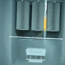 静电喷粉设备、自动喷粉设备、环保喷粉设备、喷粉设备生产线图片