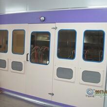 小型自动喷漆设备,自动喷漆房,机械喷漆设备,水帘窗喷漆设备图片