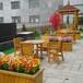 供西宁园林休闲桌椅和青海园林景观施工供应商