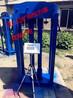 双人位YSJ20矿山救护锻炼检力器1.2m拉高双数显检力器