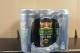 诚招代理绿特质易拉罐啤酒320毫升24听南平市