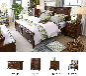 满江红家居——实木床1.8米双人床单人床成人1.5米床高箱床婚床定制