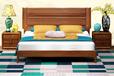 满江红家居——实木双人床大床婚床现代中式卧房实木家具