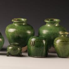 清代孔雀绿釉瓷器最新成交记录,最新市场行情