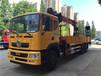 东风后八轮特商12吨随车吊(SQS)240马力,9档变速箱,三层直通大梁