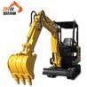更小挖掘机价格表镇江5吨挖掘农用微型挖沟机