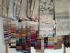 尚屹纺织厂生产沙发布料提花布亚麻格子布桌布车套布批发