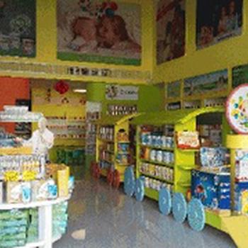 四川母婴母婴店展柜/展示柜台/货柜/货架定做设计制作工厂