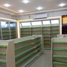 厂家直接生产成都药店货柜货架药房货柜货架中药柜西药柜图片