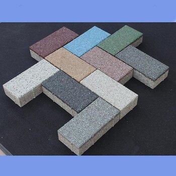 生态透水砖生产厂家新疆和田透水砖规格海绵砖价格6