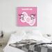 厂家直销萌妹子的专利凯蒂猫少女心系列主题酒店客房客厅儿童房挂画装饰画批发