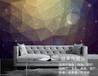 廠家直銷大幅背景墻裝飾畫星空圖案壁畫噴繪印刷油畫布