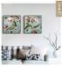 工廠直銷美式復古油畫裝飾畫臥室客廳是沙發墻雙聯黃人物畫