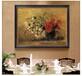 工廠免費看樣歐美餐廳裝飾畫油畫花卉水果圖案墻畫鑲金邊框畫