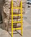 华泰电工梯子工程安全梯玻璃钢纤维五步梯子绝缘梯绝缘单直梯