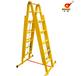 华泰伸缩梯工程玻璃钢梯子工业梯三用安全梯绝缘梯电工人字双面升降梯