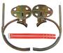 华泰400450型脚扣活动式登爬杆电工脚扣JKT-350型加厚脚爬订做脚扣带