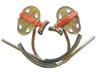 华泰400450型脚扣活动式登爬杆电工脚扣JKT-350型加厚脚爬订做
