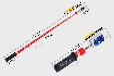 华泰伸缩折叠式袖珍10KV高低压验电笔测电笔高低压验电器