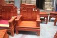 鲁创红木缅甸花梨木红木客厅沙发实木古典家具大果紫檀沙发大款福禄寿沙发