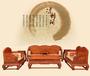 鲁创红木缅甸花梨木红木客厅沙发实木古典家具大果紫檀沙发荷花宝座沙发
