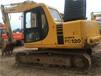 二手挖掘机小松120无废气手续齐全试看试车挖掘机动力十足