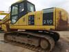 二手挖掘机210手续齐全试看试车小松挖掘机小型挖掘机