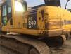 二手挖掘机小松240原装原漆质保一年