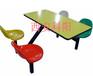 西安科阳餐桌椅公共场所餐桌椅食堂/小吃摊餐桌椅包送货