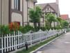 西安科阳草坪花坛护栏PVC花园隔离栅绿化带隔离围栏