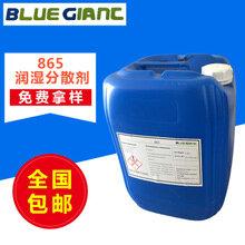 德国蓝巨化学水性上光油油墨炭黑用865润湿分散剂
