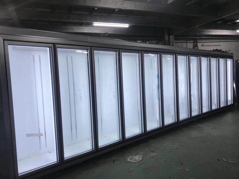 开放式保鲜柜幕风柜立式保鲜柜饮品展示柜价格批发定制厂家