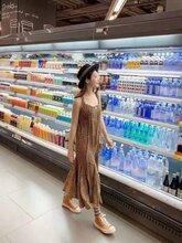 濟源市定制水果保鮮柜風幕柜上門安裝免費測量