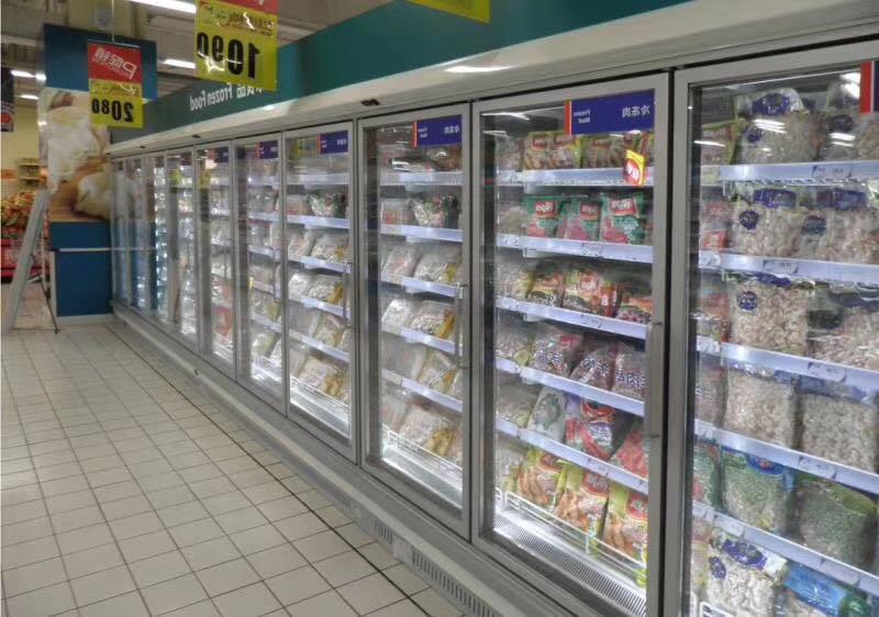 风幕柜展示柜饮料柜超市专用后补式冷库冷风柜
