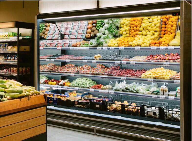 商用水果店水果保鲜柜冷风柜展示柜品牌定制联保