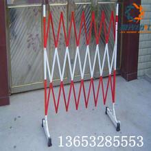 玻璃钢伸缩护栏伸缩围栏图片