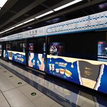户外广告地铁广告屏蔽门12封灯箱媒体广告位招租