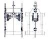 供应罐笼滑套、钢丝绳导向套-西安煤技公司专业生产