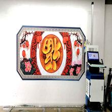 墙体彩绘机厂家墙体3D彩绘喷绘机立体墙画打印背景墙壁画户外打印图片