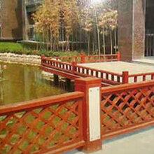 供甘肃防腐木围栏和兰州防腐木栏杆
