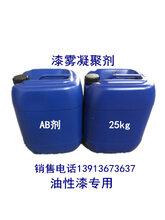 广东漆雾凝聚剂AB剂喷漆房絮凝悬浮剂油漆废污水处理循环水上浮除漆渣