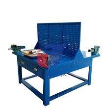 君晟JS-QG2型热销款双面钳工实训台学生绘图桌双面钳工桌图片