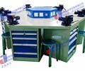 JS-QG6型六角豪华钳工实训台六工位钳工桌学生制图桌注塑模具模型液压实验台