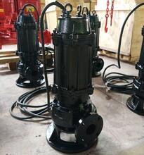 QW/WQ潜水式无堵塞排污泵自搅匀排污泵厂家直销价