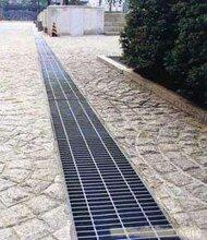 隐形钢格板,排水沟盖板,平台踏步板,钢格板护栏图片